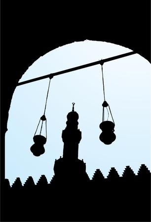 din: Salah El Din Castle 2 Illustration