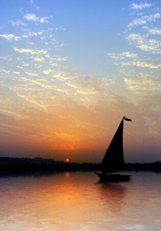 Nile river different shots photo