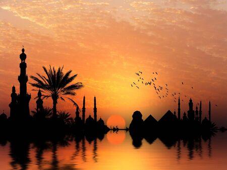 plantas del desierto: Tomas diferentes de río Nilo