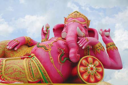 Biggest Ganesha Statue in the world, Thailand photo