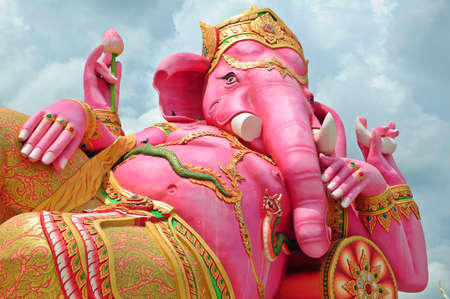 Biggest Ganesha Statue in the World, Thailand Stock Photo - 9746229