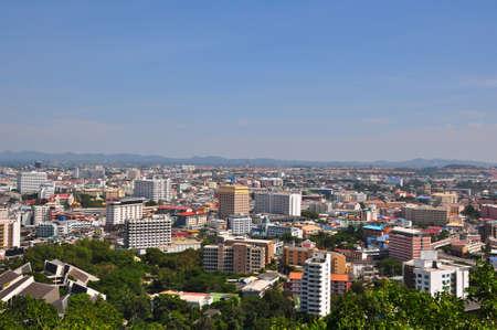 Pattaya City, bird of view photo