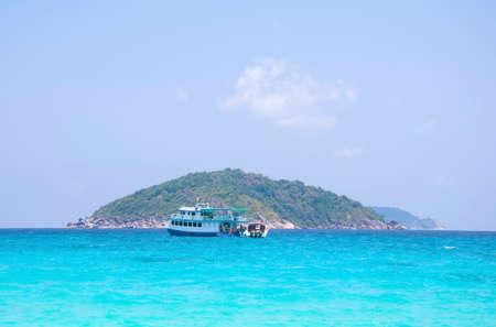 traslados: Buque de pasajeros sobre las transferencias de mar para los turistas