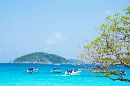 speedboat: Speedboat on the beach