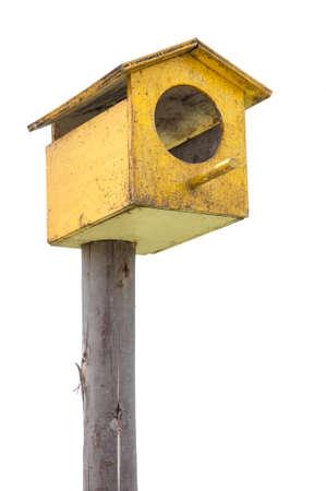 nesting: Nesting boxes on white background