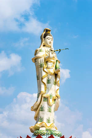 mercy: Guanyin statue, The Goddess of Compassion and Mercy