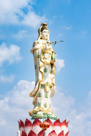 goddess of mercy: Guanyin statue, The Goddess of Compassion and Mercy