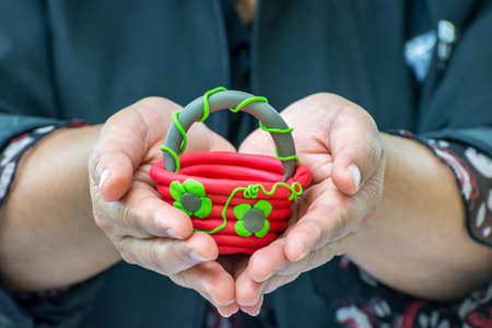 Gift Baskets made from clay