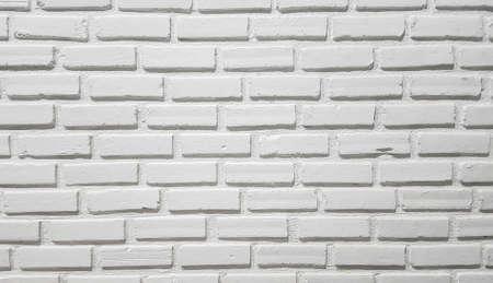 mattone texture muro bianco Archivio Fotografico