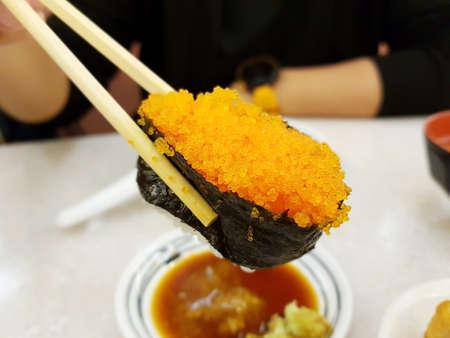 cibo-Tobiko giapponese (uova di pesce volante)