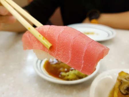 Sushi giapponese cibo-Toro a base di tonno rosso