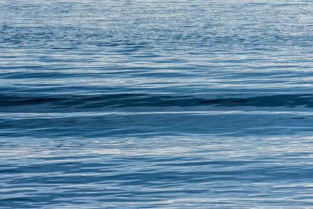 Close up sea wave surface  in the morning background Stock Photo