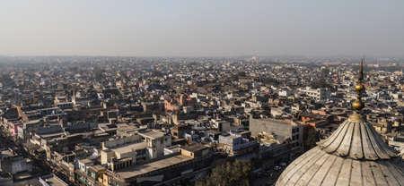 New Delhi cityscape 版權商用圖片