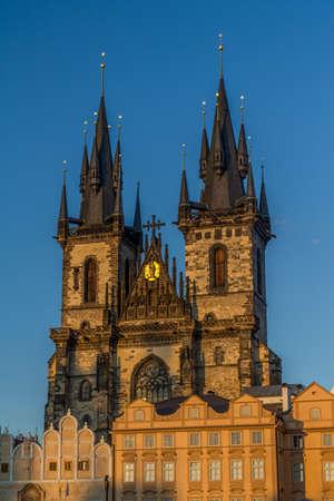 czech women: prague lady of tyn cathedral
