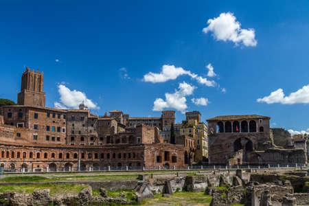 ruins: Rome ruins Stock Photo