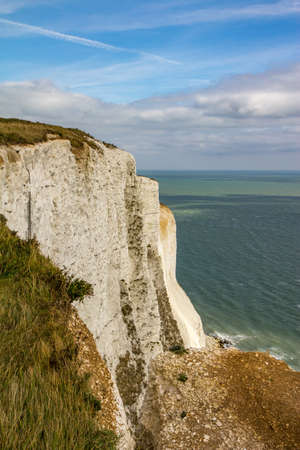 dover: White cliffs of Dover Stock Photo
