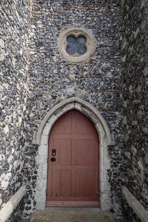 threshold: church door