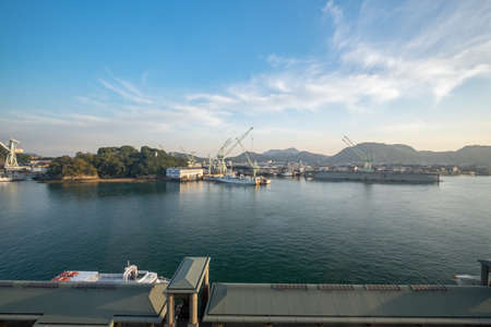 View of the Onomichi pier during daytime