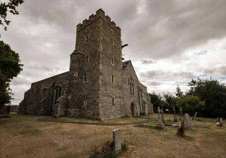 The Graveney Church in the city of Faversham, UK Stock Photo