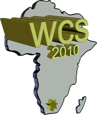 wcs event in 2010 championships in africa Vector
