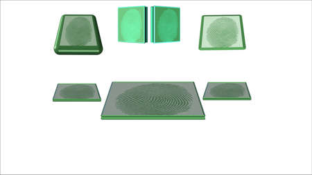 enviro: eco friendly fingerprint in 3d for business and personal signatures