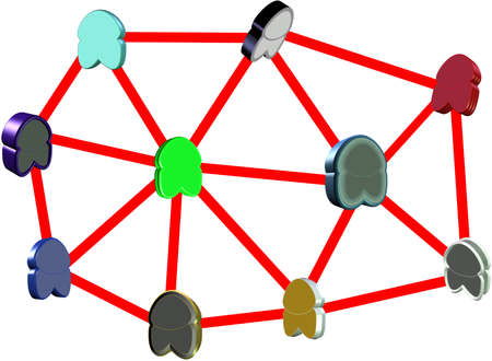 secluded: were all equals  networking abstract