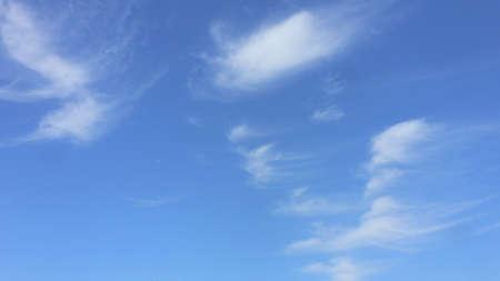 wispy cloud formations