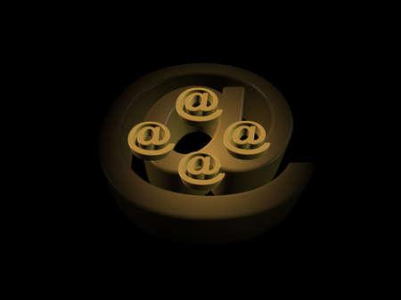 Símbolo que representa la unidad de Internet y la velocidad necesaria en los negocios de hoy Foto de archivo - 5014534