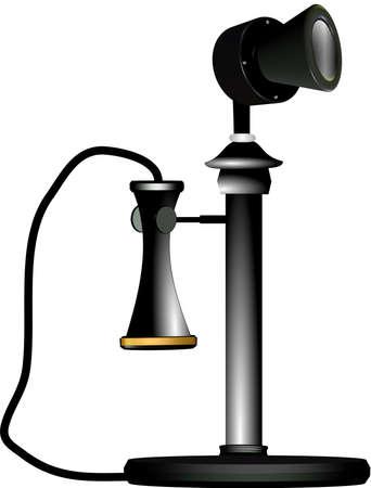 candlestick: candelstick telephone