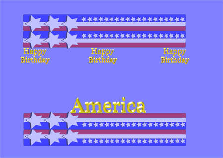 secluded: birthday greetings for america on july4th