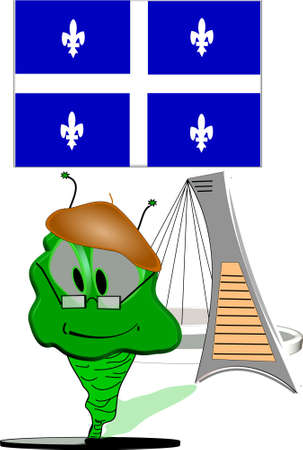 willy: willy worm visits montreal