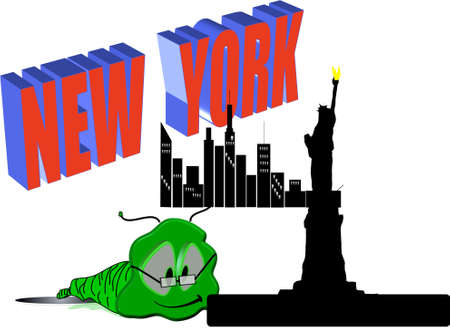 willy: willy worm visits new york