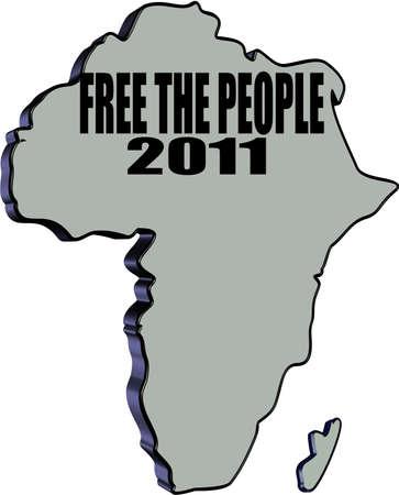 free the people Ilustração