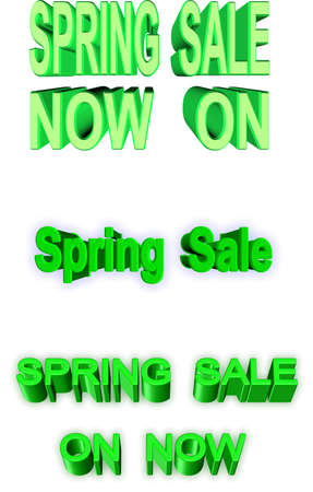 clear out: spring sales events in 3d