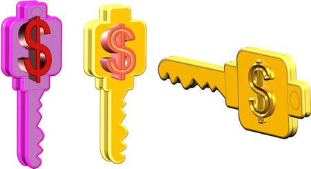 money lock Stock Photo - 9215662