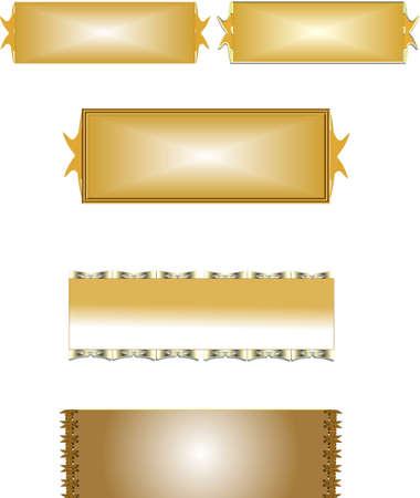 metalen naamplaatjes