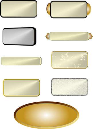 viso: placas surtidos en blanco