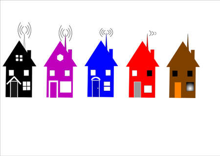 homes with wireless internet