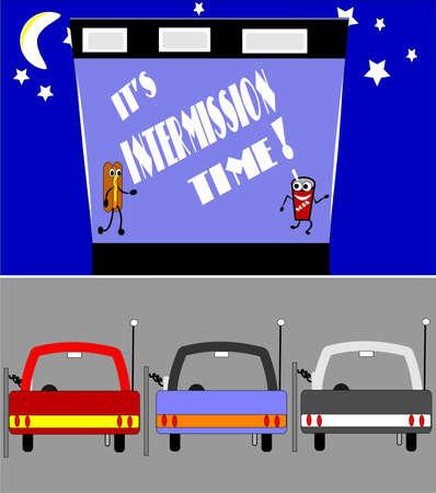 intermission: retro drive in intermission time