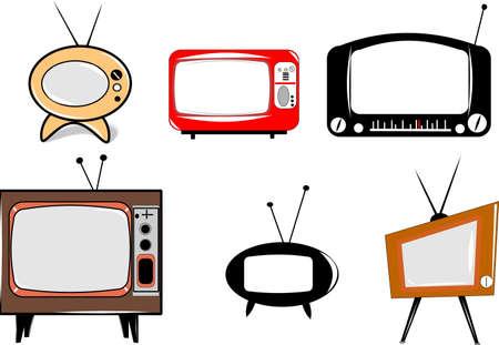 retro: retro televisions
