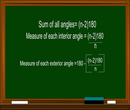 equation on blackboard Vector