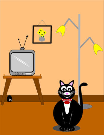 cat and mouse game Vector