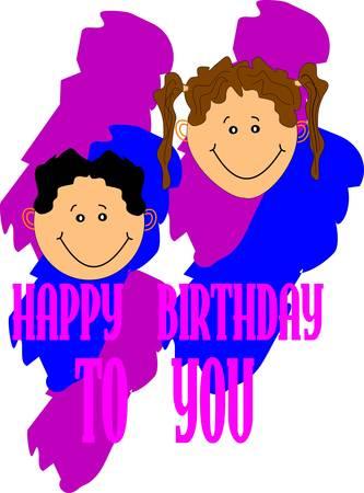 grand kids: happy birthday