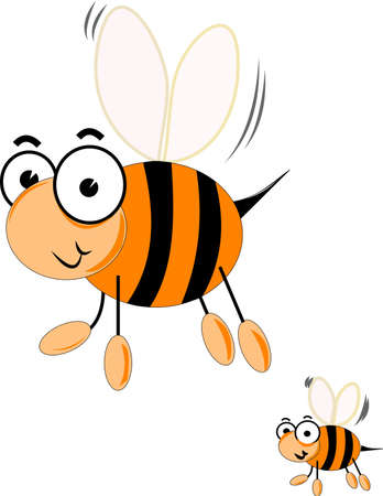 large group of animals: queen bee