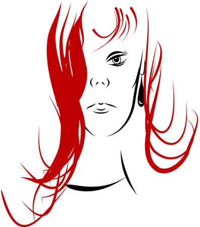 rock star in line art Stock Vector - 11418225