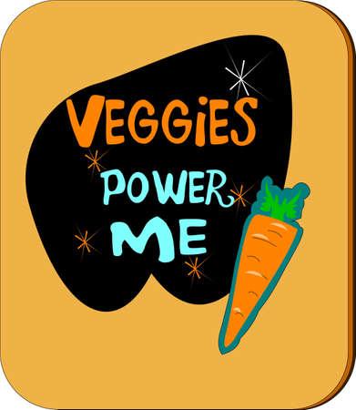 kracht: veggies macht mij