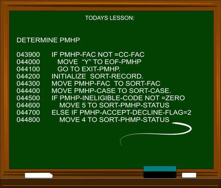 code computer: c�digo inform�tico en la pizarra