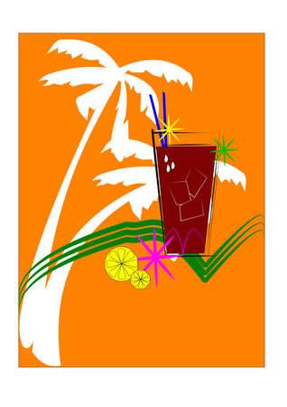 beginnings: tropical spring Illustration