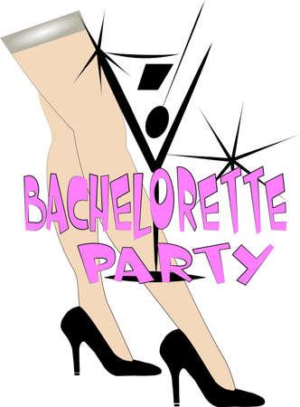 bachelorette party Reklamní fotografie - 12313716