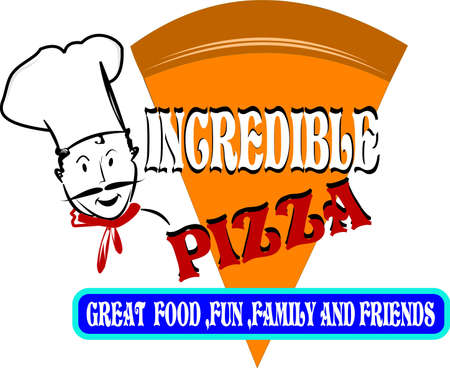 Pizza Slice Stock Illustratie